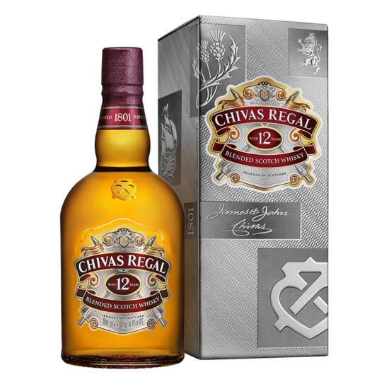 Chivas Regal 12 éves PDD Whisky (1 l) (40%)