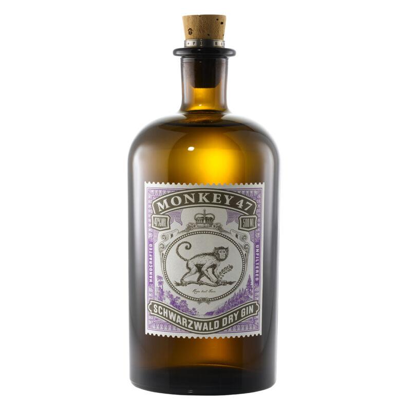 Monkey 47 Schwarzwald Dry gin -Pálinkashop