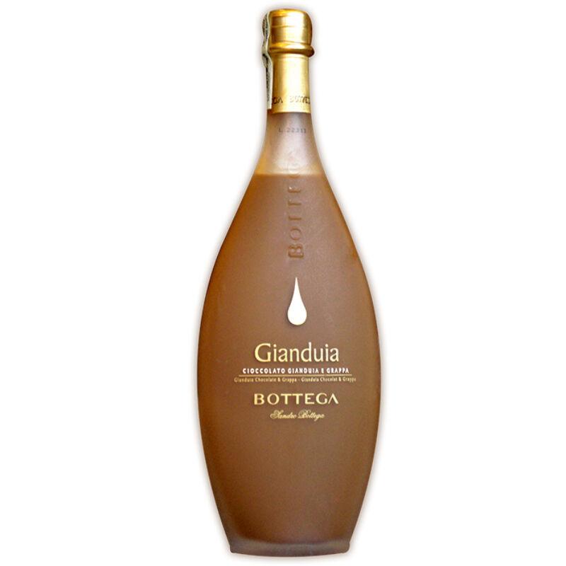 Bottega Crema Gianduia Paestum - mogyorós tejcsoki - olasz-likőr-PálinkaShop