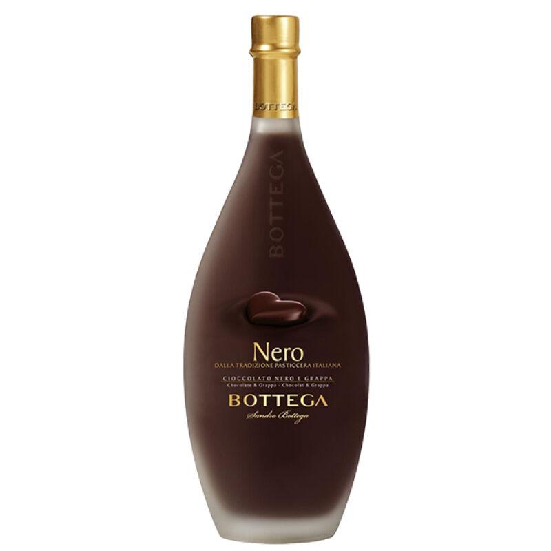 Bottega Grappa Nero - feketecsokoládés likőr - olasz-likőr-PálinkaShop