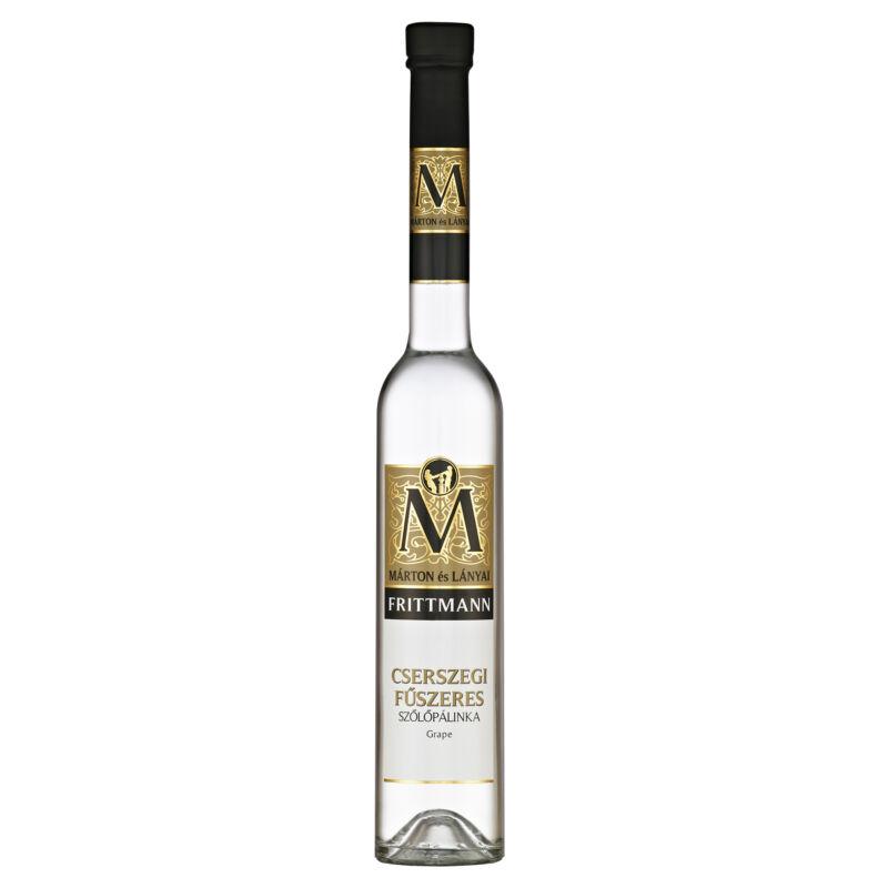 Márton és Lányai Frittman Cserszegi Fűszeres szőlő pálinka-Pálinkashop