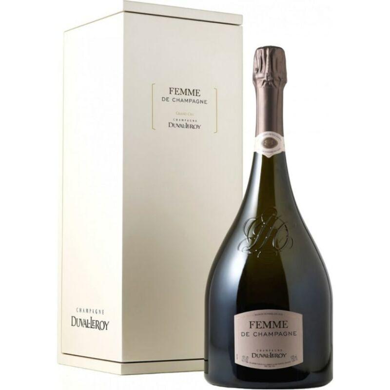 Champagne-Duval-Leroy Femme 2000 Brut + Giftbox (1,5l)-PálinkaShop