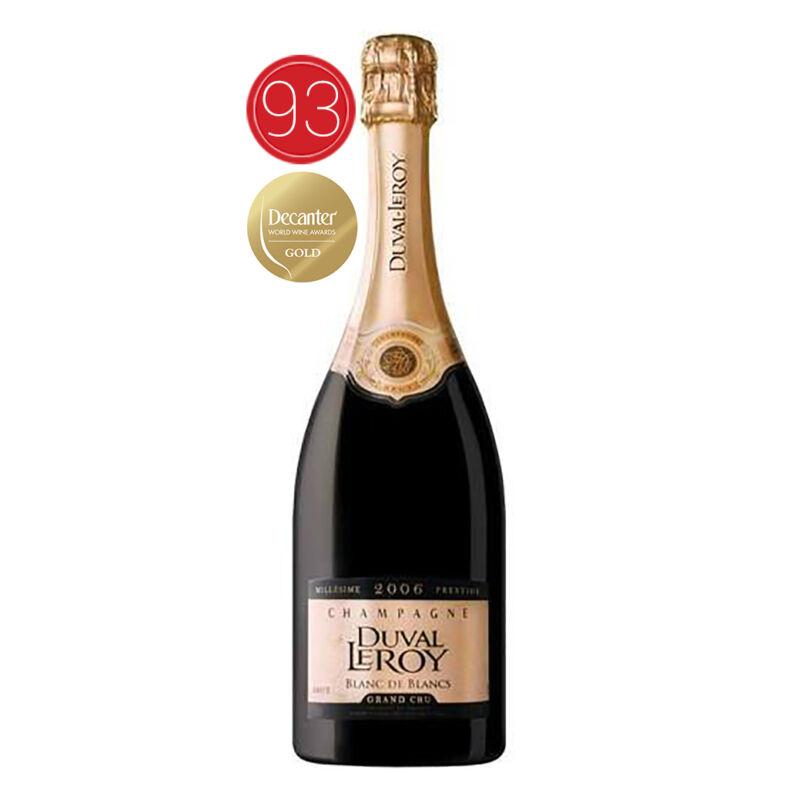 Champagne-Duval Leroy Blanc de Blancs 2006 Grand Cru-PálinkaShop
