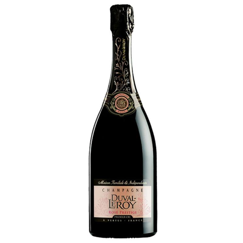 Champagne-Duval-Leroy Rosé Prestige Brut-PálinkaShop