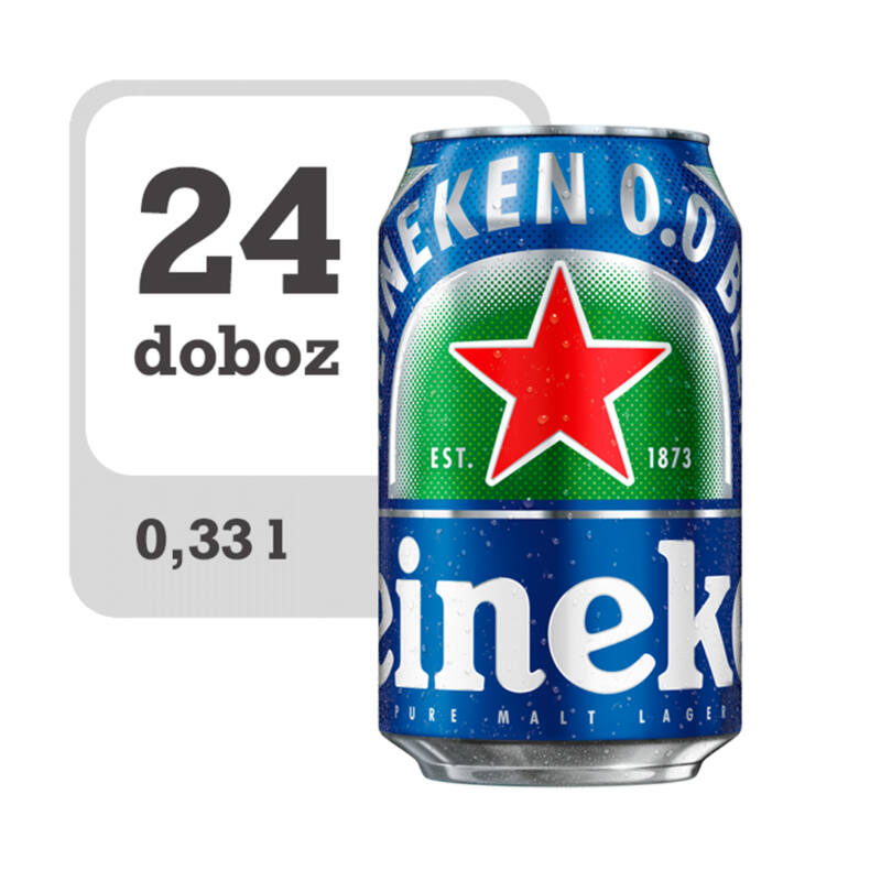Heineken alkoholmentes világos sör-PálinkaShop