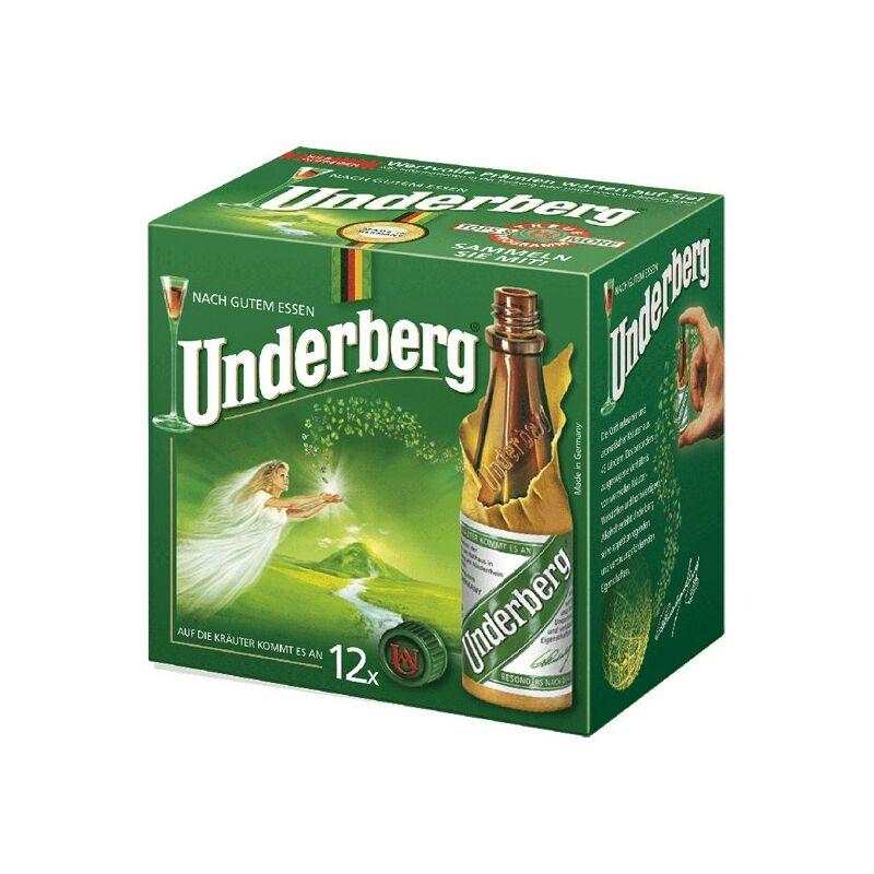 Underberg 12*0,02 Papír DD-Pálinkashop