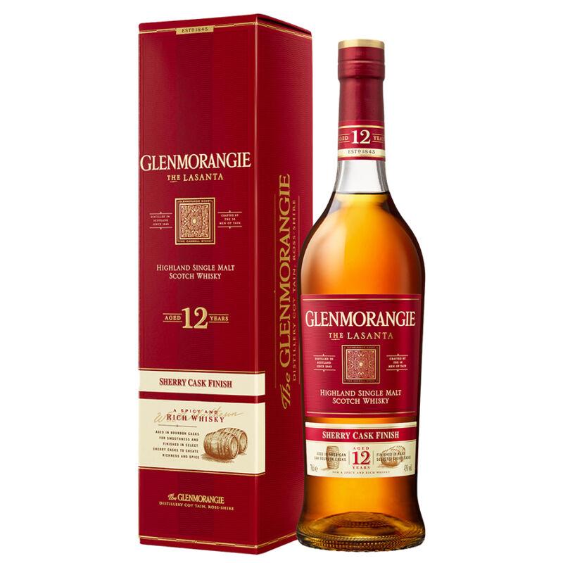 Glenmorangie Lasanta Whisky díszdobozzal - Pálinkashop