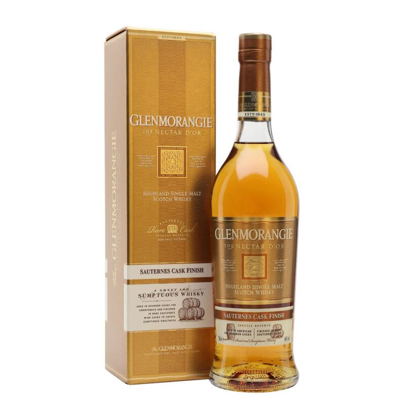 Glenmorangie Nectar d'Or díszdobozzal (0,7l) (46%)