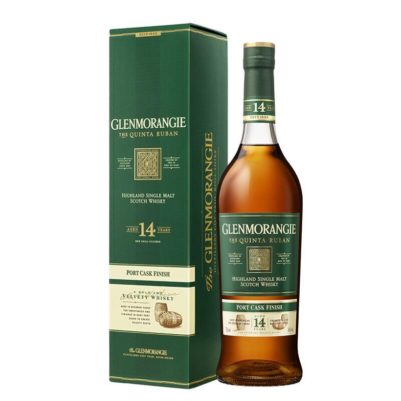 Glenmorangie Quinta Ruban Whisky díszdobozzal - Pálinkashop