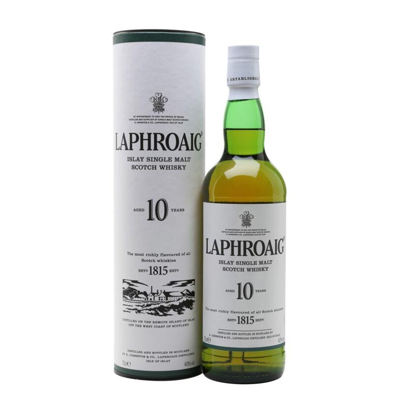 Laphroaig 10 years Single Malt Whisky (0,7l) (40%)