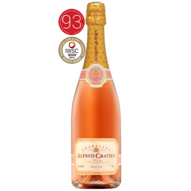 Champagne-Alfred Gratien Rosé-PálinkaShop