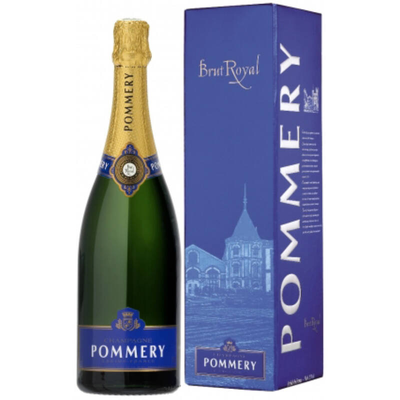 Champagne-Pommery Brut Royal díszdobozzal-PálinkaShop